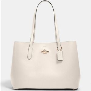 COACH Large Avenue Carryall Tote Chalk